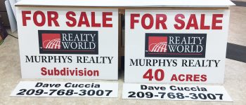 Murphys Realty New Listing Signs