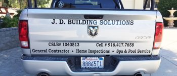 JD Building Solutions Truck